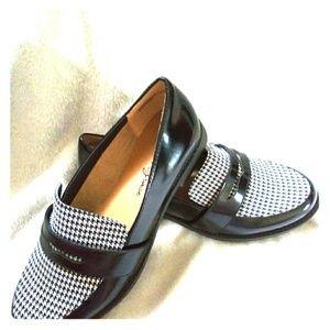 Amelia Grace black and white shoes